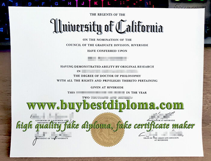 University of California Riverside diploma, fake UC Riverside diploma, University of California Riverside degree,