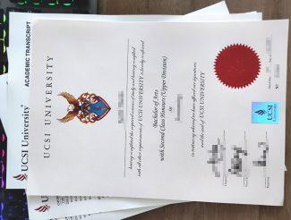 UCSI University degree, UCSI University transcript, fake UCSI diploma and transcript,