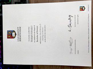 University of Birmingham degree, University of Birmingham diploma, fake BSC degree,