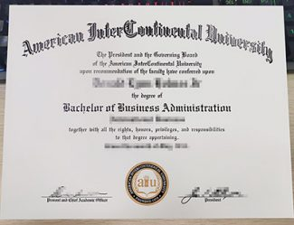 American InterContinental University diploma, fake AIU diploma, fake AIU degree,