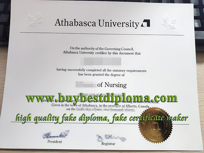 fake Athabasca University diploma, fake nursing diploma, Athabasca University degree,