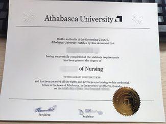 fake Athabasca University diploma, fake nursing diploma, Athabasca University degree,