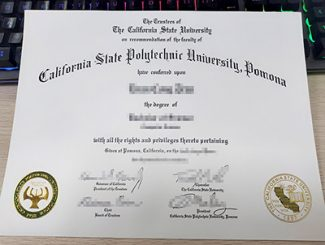 Cal Poly Pomona diploma, Cal Poly Pomona degree, fake CSPU Pomona degree,