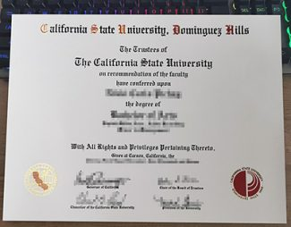 CSU Dominguez Hills diploma, fake CSUDH diploma, California State University-Dominguez Hills degree