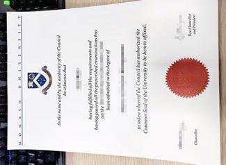 Monash University degree, Monash University diploma, Monash University certificate