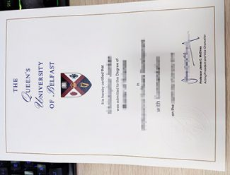 Queen's University Belfast diploma, Queen's University Belfast degree, fake Belfast University degree,