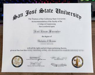 San José State University diploma, fake SJSU diploma, fake San José State University degree,