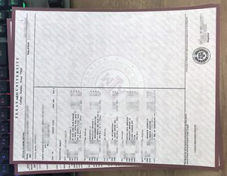 Texas A&M University transcript, Texas A&M University diploma, fake transcript,