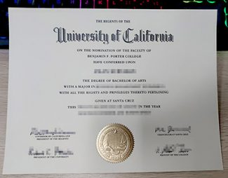 UC Santa Cruz diploma, University of California Santa Cruz diploma, fake UCSC diploma,