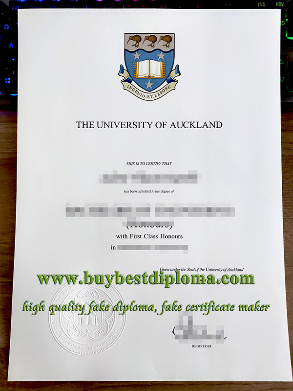 University of Auckland degree, University of Auckland diploma,