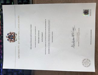 fake UCLan diploma, fake University of Central Lancashire degree, replica UCLan certificate,