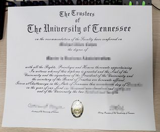 University of Tennessee diploma, University of Tennessee degree,