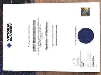 Victoria University diploma, Victoria University degree, fake VU diploma,