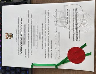 South Africa certificate of authentication, fake South Africa apostille, fake degree apostille,