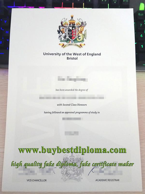 UWE Bristol degree, UWE Bristol diploma, University Of The West Of England degree,