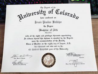 University of Colorado diploma, University of Colorado degree, fake CU diploma,