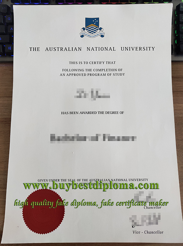 Australian National University degree, fake ANU degree, Australian National University diploma,