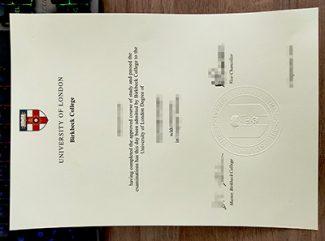 Birkbeck University of London degree, fake Birkbeck College degree, fake University of London diploma,