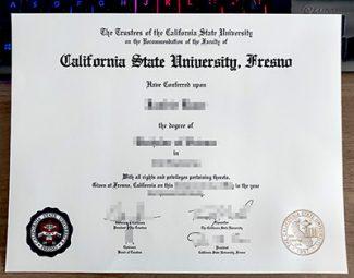 California State University Fresno diploma, fake CSUF diploma, fake Fresno State University diploma,