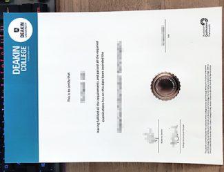 Deakin College diploma, fake Deakin College certificate, fake Deakin University diploma,