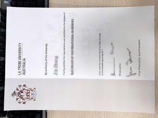 La Trobe University degree, fake La Trobe University diploma, fake La Trobe University certificate,