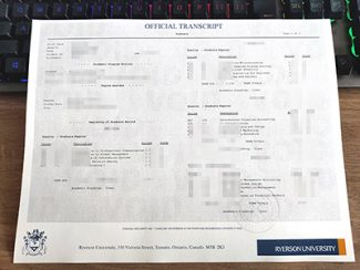 fake Ryerson University transcript, fake Ryerson University certificate, fake transcript,