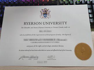 fake Ryerson University diploma, fake Ryerson University degree, replica Ryerson University certificate,