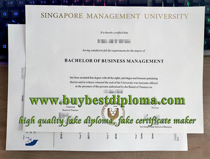 Singapore Management University diploma, Singapore Management University degree, fake SMU degree,