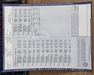 UC Irvine transcript, fake University of California Irvine transcript, fake college transcript,