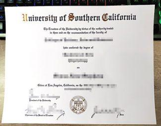 fake University of Southern California diploma, fake USC diploma, replica University of Southern California degree,