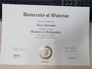 University of Waterloo diploma, University of Waterloo degree, fake University of Waterloo certificate,