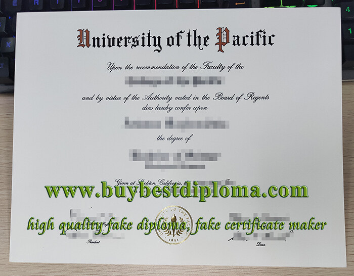 University of the Pacific diploma, University of the Pacific degree, fake University of the Pacific certificate,