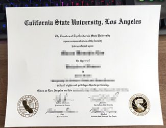 Cal State LA diploma, fake California State University Los Angeles certificate, fake Cal State LA degree,