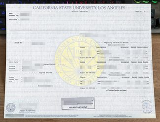 Cal State LA transcript, fake California State University Los Angeles transcript, buy CSU Los Angeles transcript,
