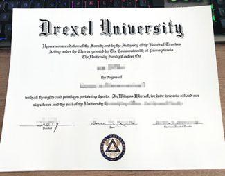Drexel University diploma, fake Drexel University certificate, fake Drexel University degree,