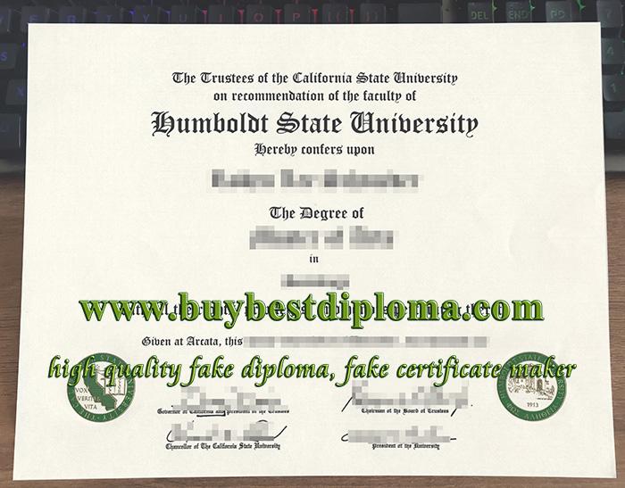 Humboldt State University diploma, fake Humboldt State University certificate, fake Humboldt State University degree,