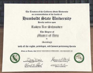 Humboldt State University diploma, fake Humboldt State University certificate, fake Humboldt State University degree,