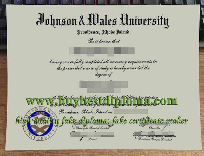 Johnson & Wales University diploma, Johnson & Wales University degree, fake JWU diploma,