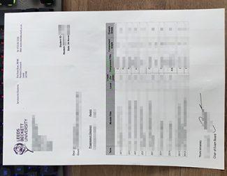 Leeds Beckett University transcript, fake LBU transcript, fake Leeds Beckett University certificate,
