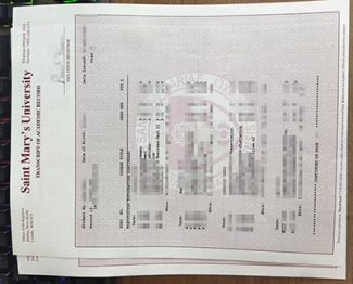 Saint Mary's University transcript, fake Saint Mary's University diploma, fake Saint Mary's University certificate,