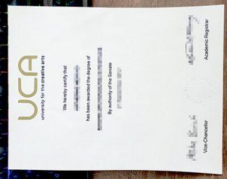 University for the Creative Arts degree, University for the Creative Arts certificate, fake UCA diploma,