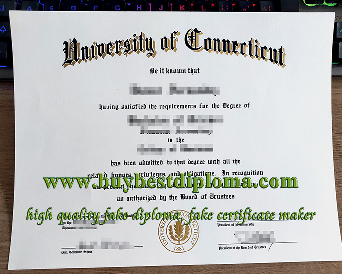 University of Connecticut diploma, fake University of Connecticut certificate, fake University of Connecticut degree,