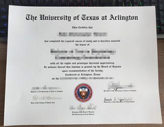 University of Texas at Arlington diploma, fake UT Arlington diploma, University of Texas at Arlington certificate,
