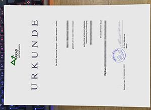 fake AKAD University diploma, AKAD Hochschulen urkunde, fake German urkunde,
