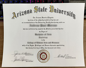Arizona State University diploma, fake Arizona State University degree, buy ASU diploma,