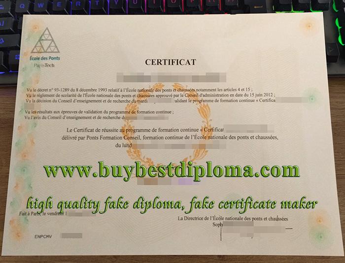 fake École des Ponts certificat, buy École des Ponts diploma, fake École des Ponts degree,