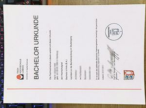 Fachhochschule Lübeck urkunde, Technische Hochschule Lübeck uekunde, FH Lübeck diploma,