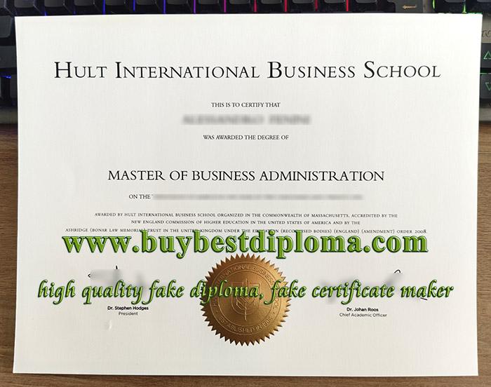 Hult International Business School degree, fake HIBS diploma, fake MBA degree,