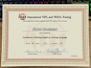ITTT TEFL certificate, fake TEFL certificate, fake ITTT certificate,