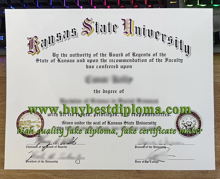 fake Kansas State University diploma, buy Kansas State University degree, Kansas State University certificate,